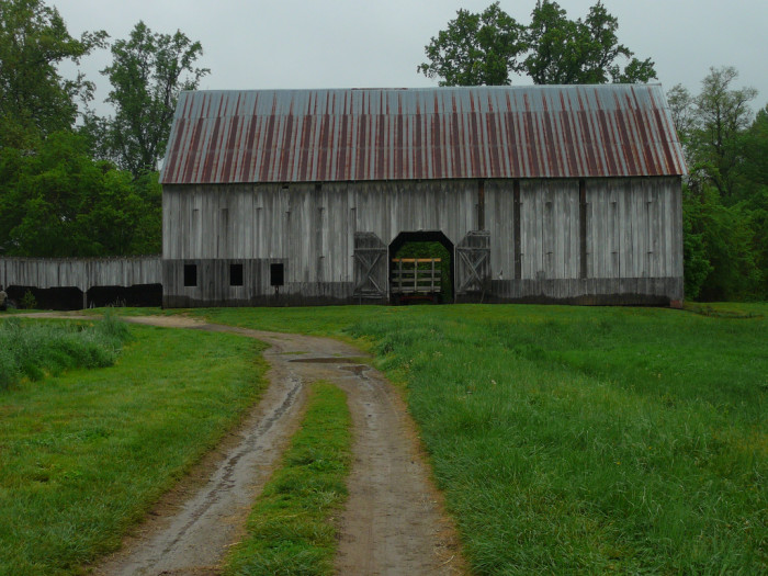 9) This is such a unique barn, located at Clagett Farm in Upper Marlboro.