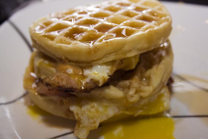 6.  Breakfast waffle