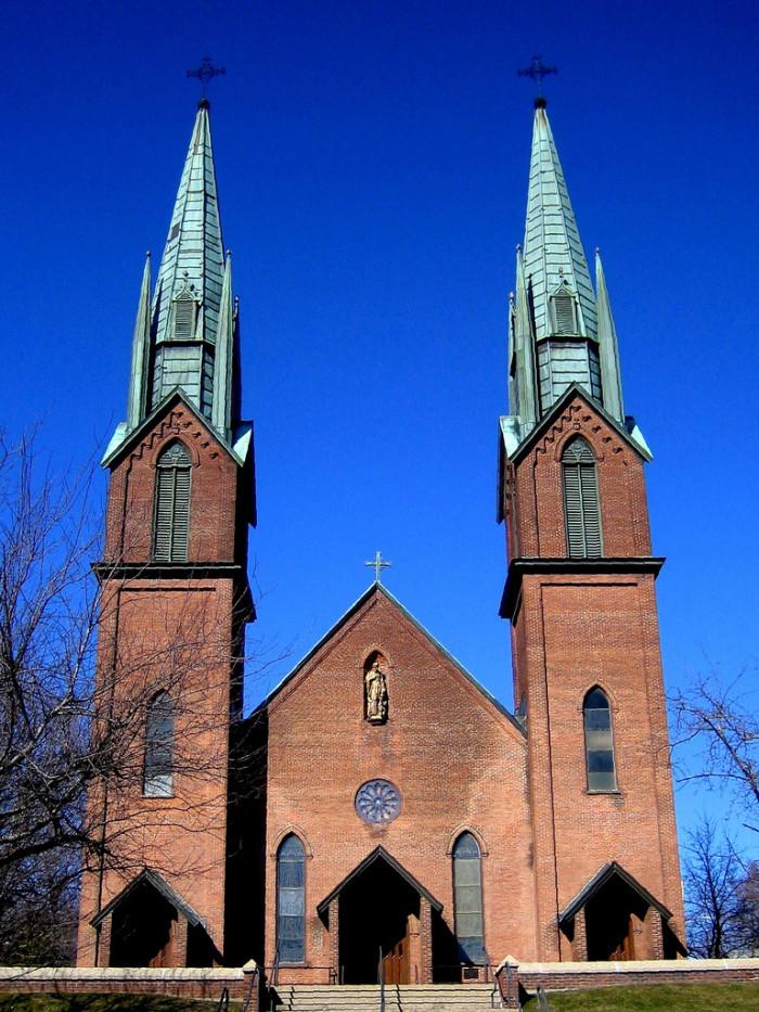 18.  St. Francis Xavier Catholic Church