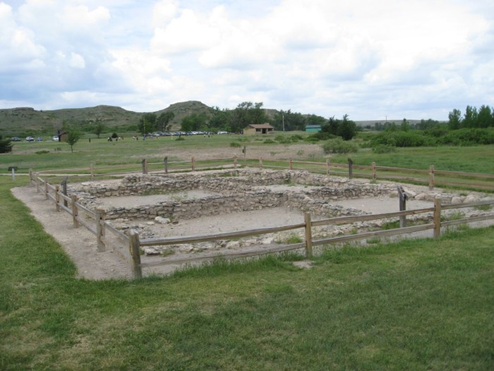 """3. """"This small settlement known as El Cuartelejo (or Quartelejo) was built in the 17th century by Pueblo migrants from northern Tiwa region (Taos and Picuris Pueblos). It is the northernmost and easternmost Pueblo."""""""