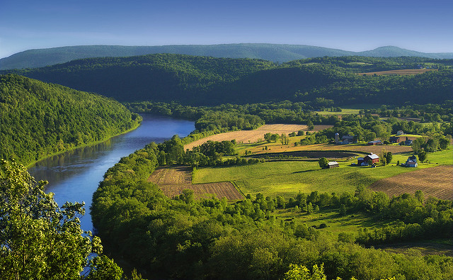 2. Rich U.S. colonial history is encapsulated at Pennsylvania's French Azilum Historic Site, pictured in this gorgeous photograph.