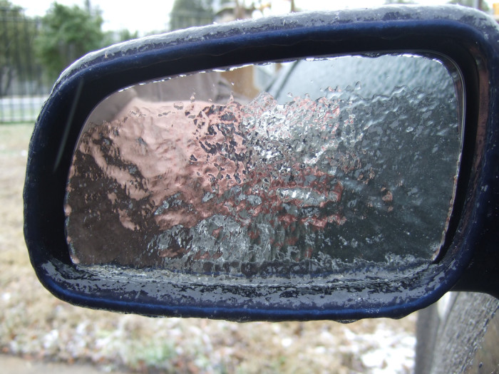 7. A tip for the cold weather folks: cover your side mirrors overnight with Ziplock or rouge grocery bags to prevent ice from forming on them.