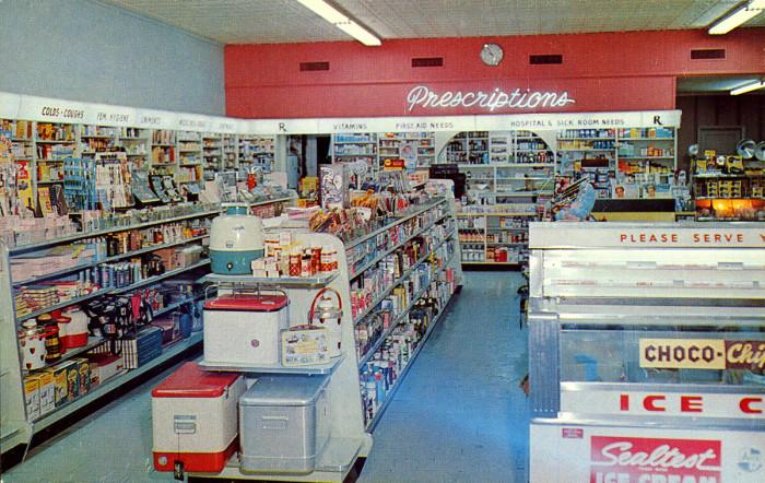 6. Collier Super Drugstore 1950s
