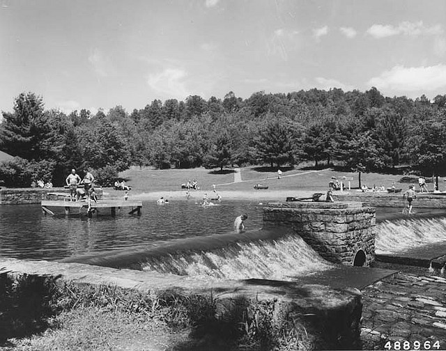2. Many of Pennsylvania's state parks don't look too different today than they did back in the 1950s. Here is Loleta Forest Camp in Allegheny National Forest as it looked in 1958.