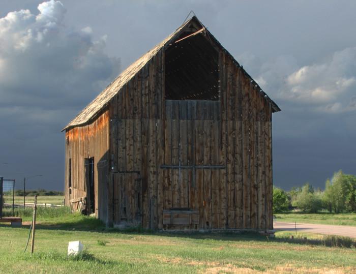 Old barn in St. Charles, Idaho