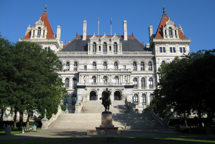 32. New York: State Capitol Building