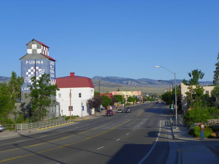 1. Lander, Wyoming