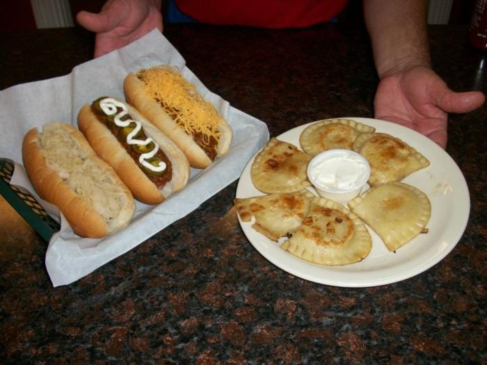 5. Dog Daze Gourmet Hot Dogs (Canton)