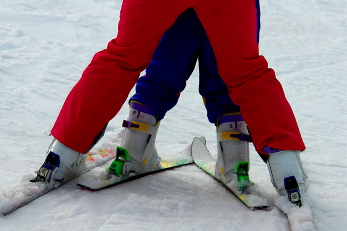 17.  You're never too young or old to learn how to ski.