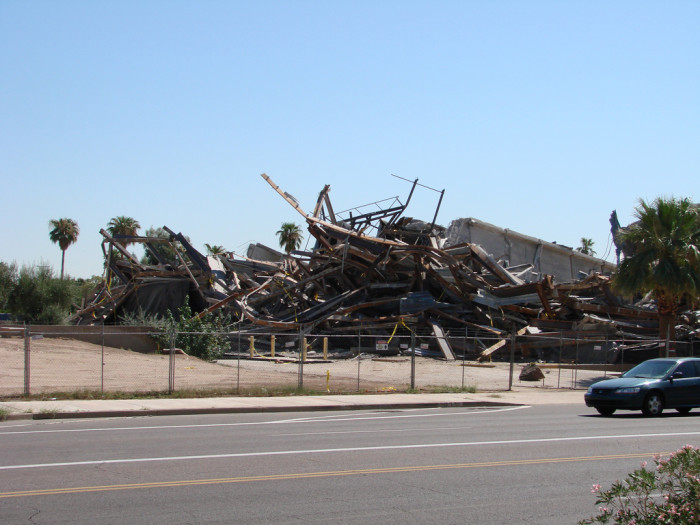10. Arizonans have a tendency to demolish landmarks and historic buildings in order to build something new.