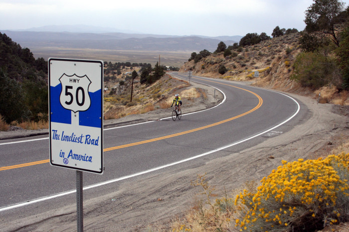 11. U.S. Route 50 - The Loneliest Road in America