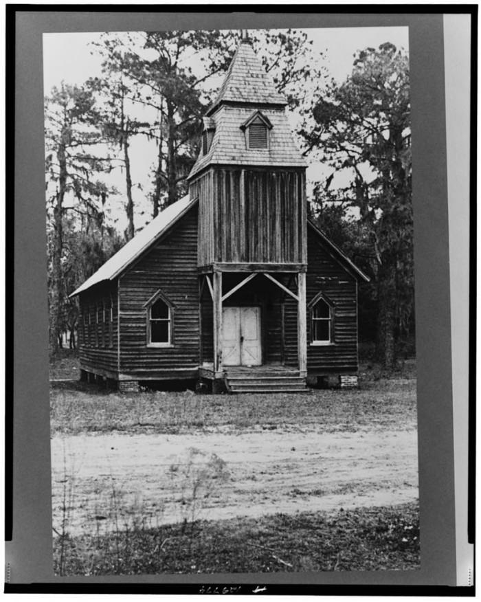3. Wooden church, St. Marys, Georgia - March 1936