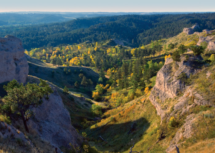 3. The bluffs at Chadron State Park, Chadron