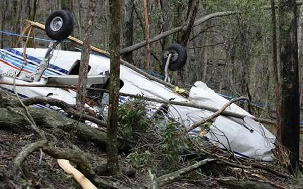 4. The Lynyrd Skynyrd Plane Crash
