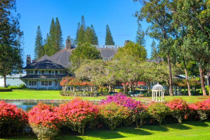 4) Four Seasons Resort: The Lodge at Koele, Lanai