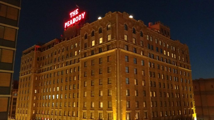4) Peabody Hotel - Memphis