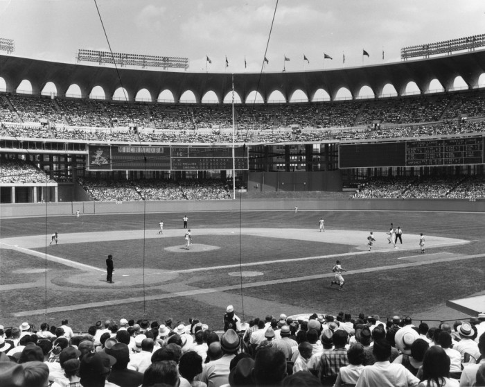 5.	Busch Memorial Stadium, 1966