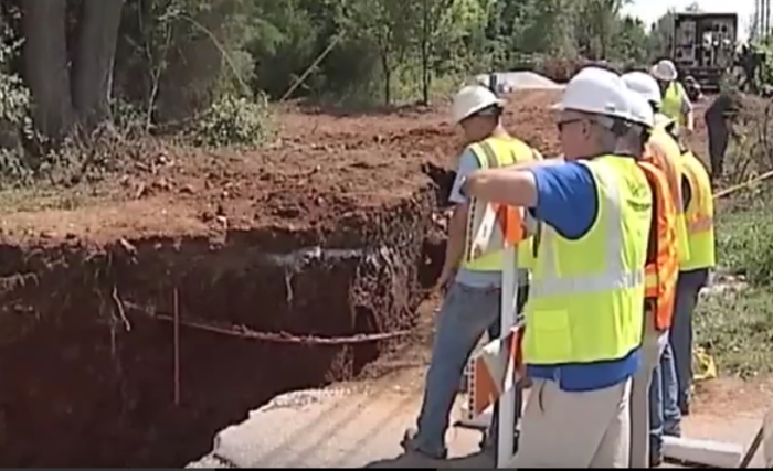 8.What causes sinkholes, anyway?