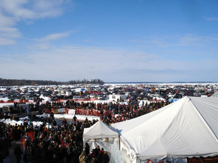 11. Speaking of fishing, this town is, most importantly, the host of the International Eelpout Festival.