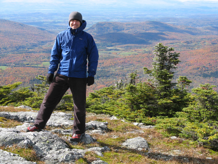 10.  Top of Mt. Abraham
