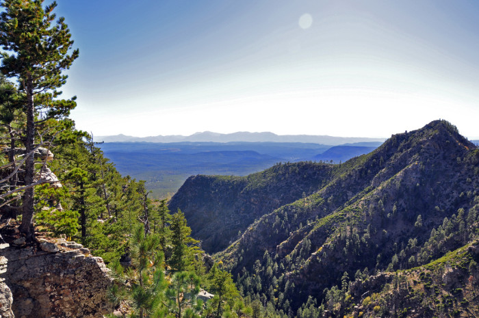 3. Spend a week(end) camping along the Mogollon Rim.