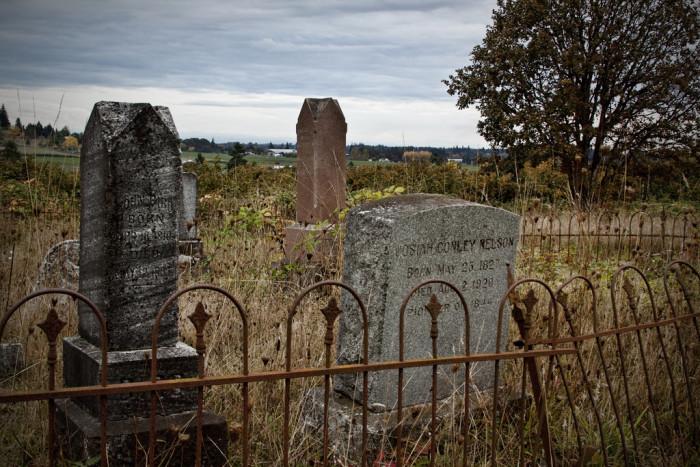 37. Oregon: Lafayette Cemetery