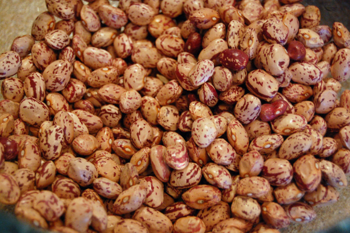 10. For more tender pinto beans: when soaking the dry beans overnight, add ¼ teaspoon of baking soda to the soaking water for every pound of dry beans.