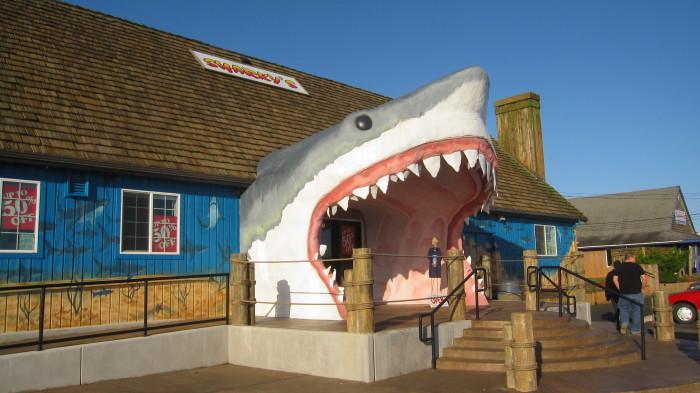 1. Sharky's, Ocean Shores