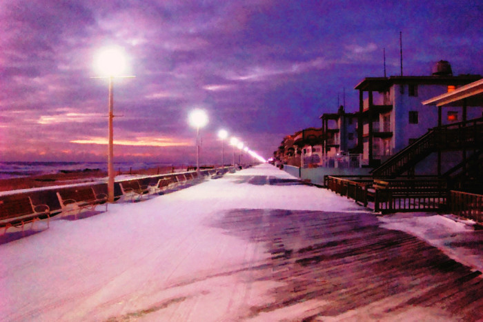 14) Ocean City is still gorgeous, even in the winter.