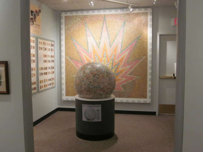 4. Boys Town - The World's Largest Ball of Stamps