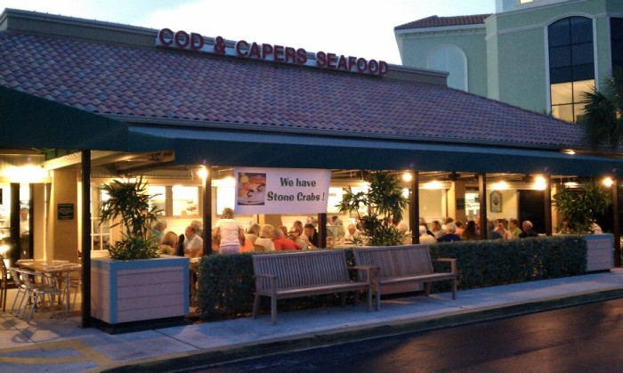 4. Cod & Capers Seafood, North Palm Beach
