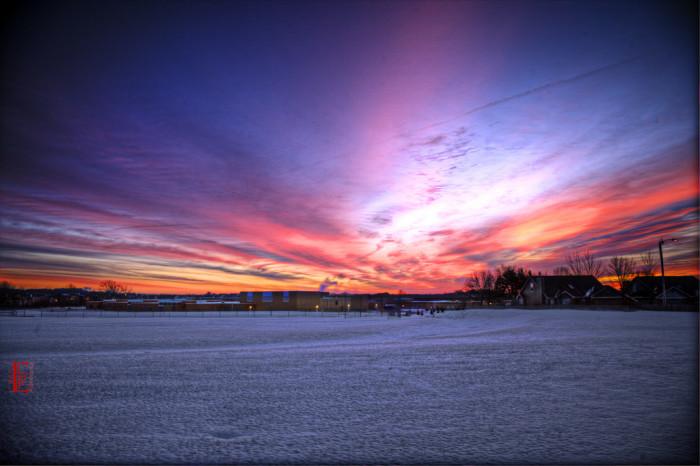 7. ...sunrises worth waking up for...