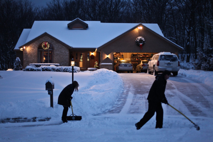 2) We shovel our driveway more times a year than you sneeze.