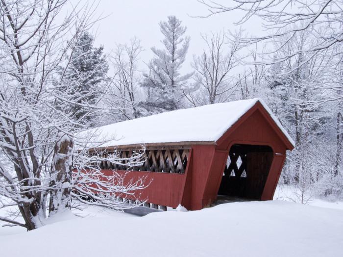 2. This covered bridge.