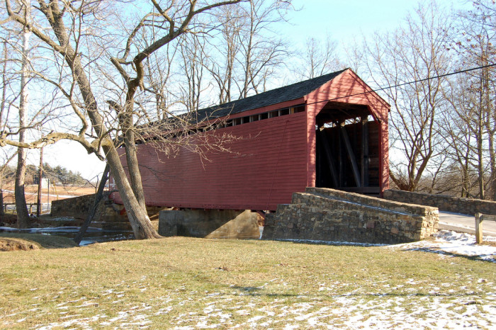 9) Loy's Station Covered Bridge, Thurmont