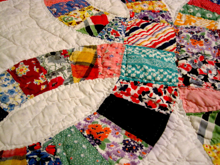 11. A handmade quilt or afghan.