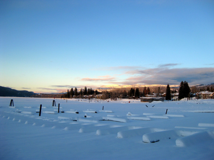 McCall, Idaho in Winter