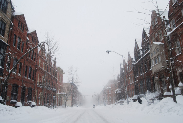 11) This brisk, Baltimore blizzard gives me chills in the best of ways.