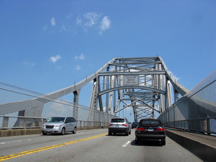 9. The Sagamore Bridge