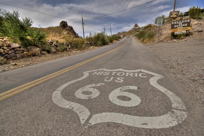 6. Enjoy the ride along Route 66.