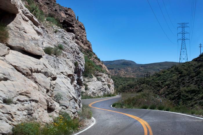 2. A scenic drive along Apache Trail