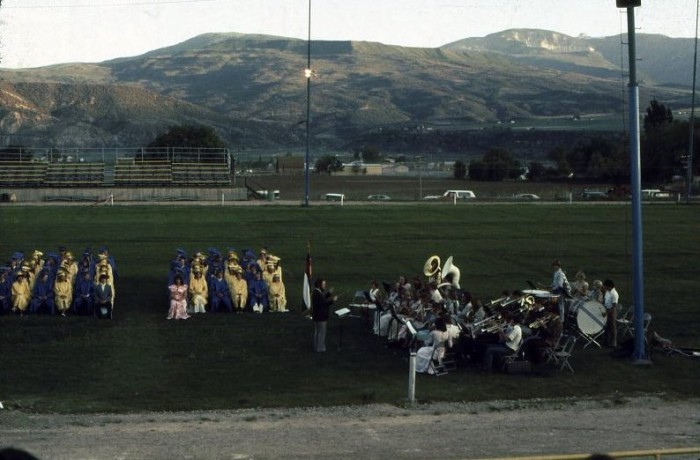 "11. ""Rifle High School graduation 1976."""