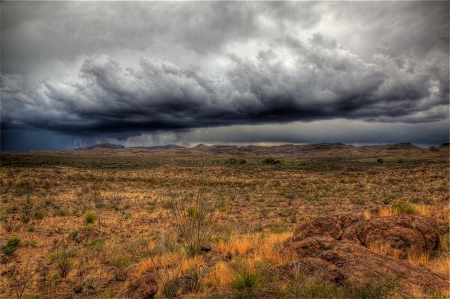 2. Impending storm in Presidio