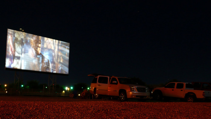 1. Drive-in movie theaters