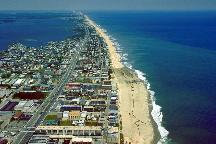 1) This view of Ocean City is unbelievable.