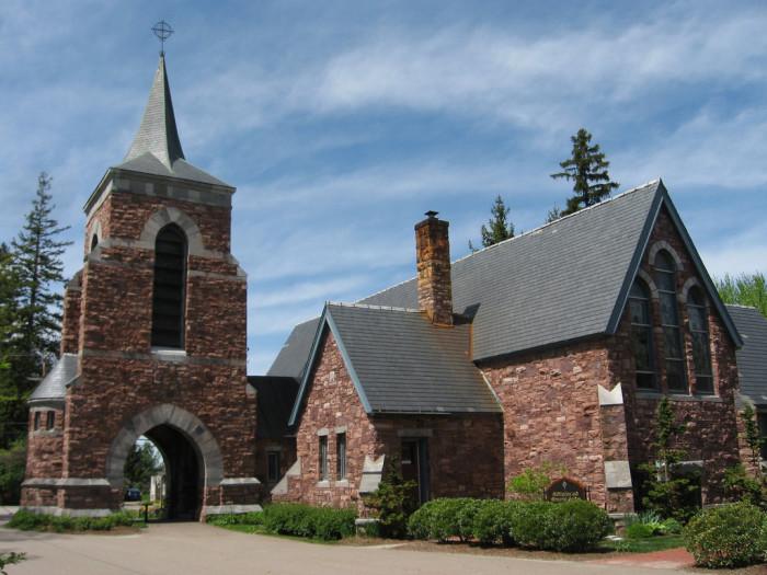 14.  Trinity Episcopal Church,  Shelburne