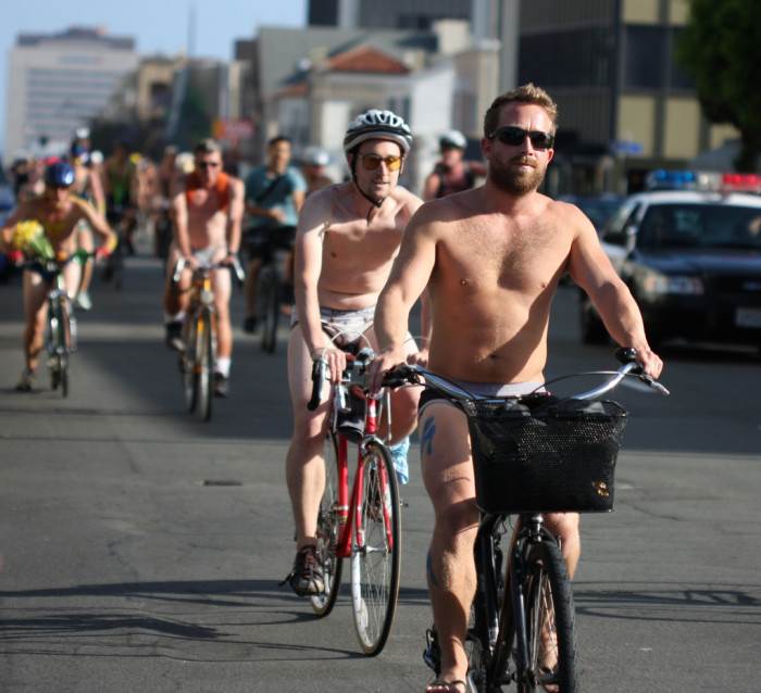 4.  42 cyclists passed through Vermont completely naked and did not break any laws