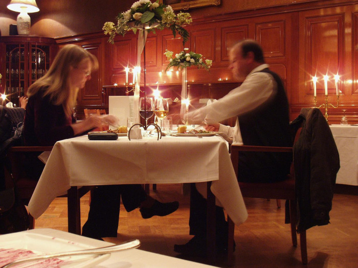 5. Have a romantic dinner with the one you love.