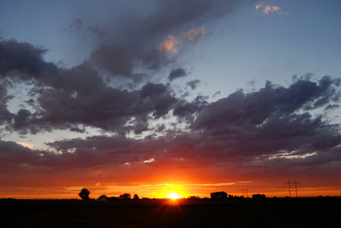 Best Rural View: Southern Idaho at Sunset