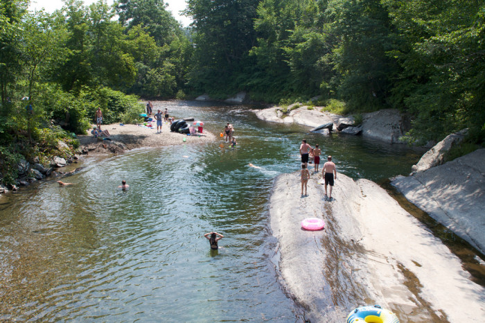 7.  You knew all the best swimming holes.